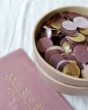 Dusty pink  tissue tassel slinger Delight Department_