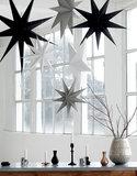 Kerstster zwart House Doctor 60cm_
