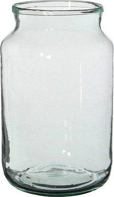 Glazen vaas middel