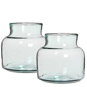 Glazen vaas klein