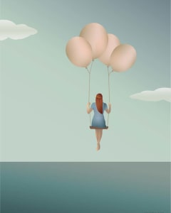 Poster Balloon Dream  Vissevasse