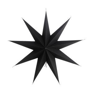 Kerstster zwart House Doctor 60 cm